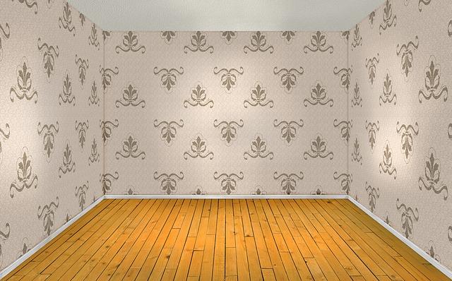 tapety w salonie